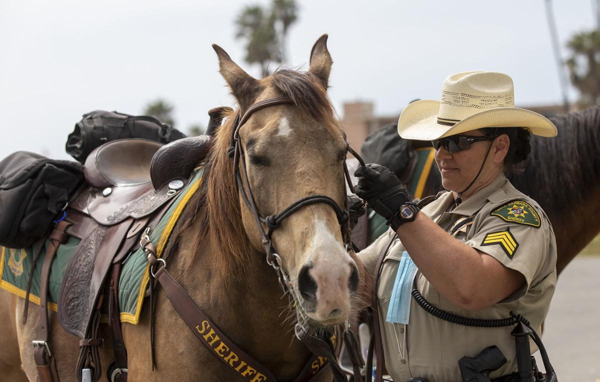 050920 Dep Thome mounted patrol 02.jpg