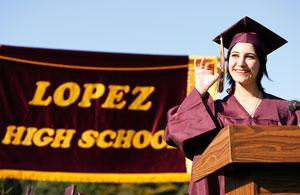 Lopez High School Graduating Seniors 2008