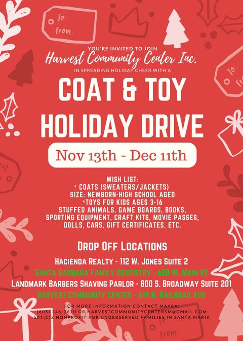 Coat & Toy Holiday Drive