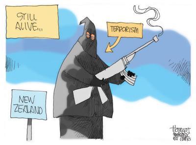 Cartoon: Terrorism still alive