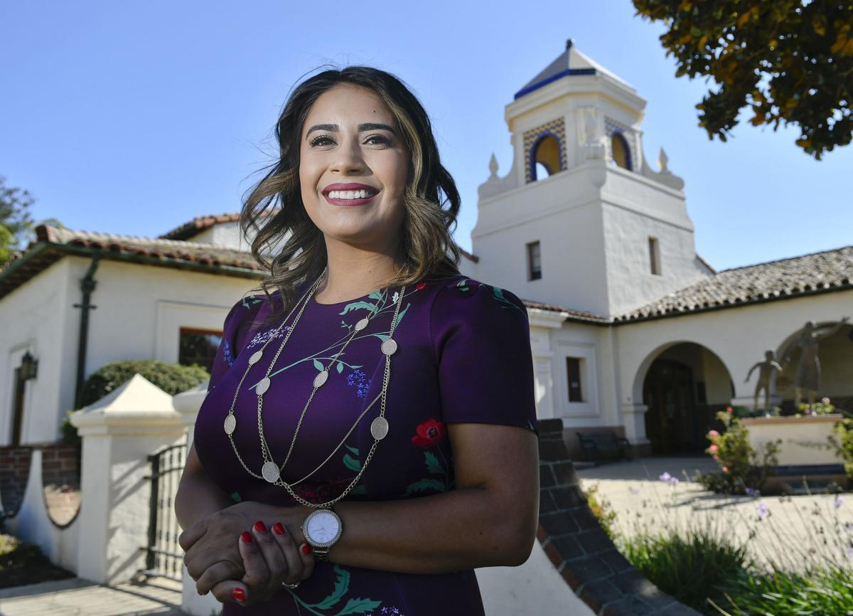 Gloria Soto at Santa Maria City Hall