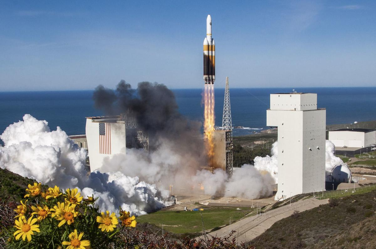 ULA Delta IV Heavy launch