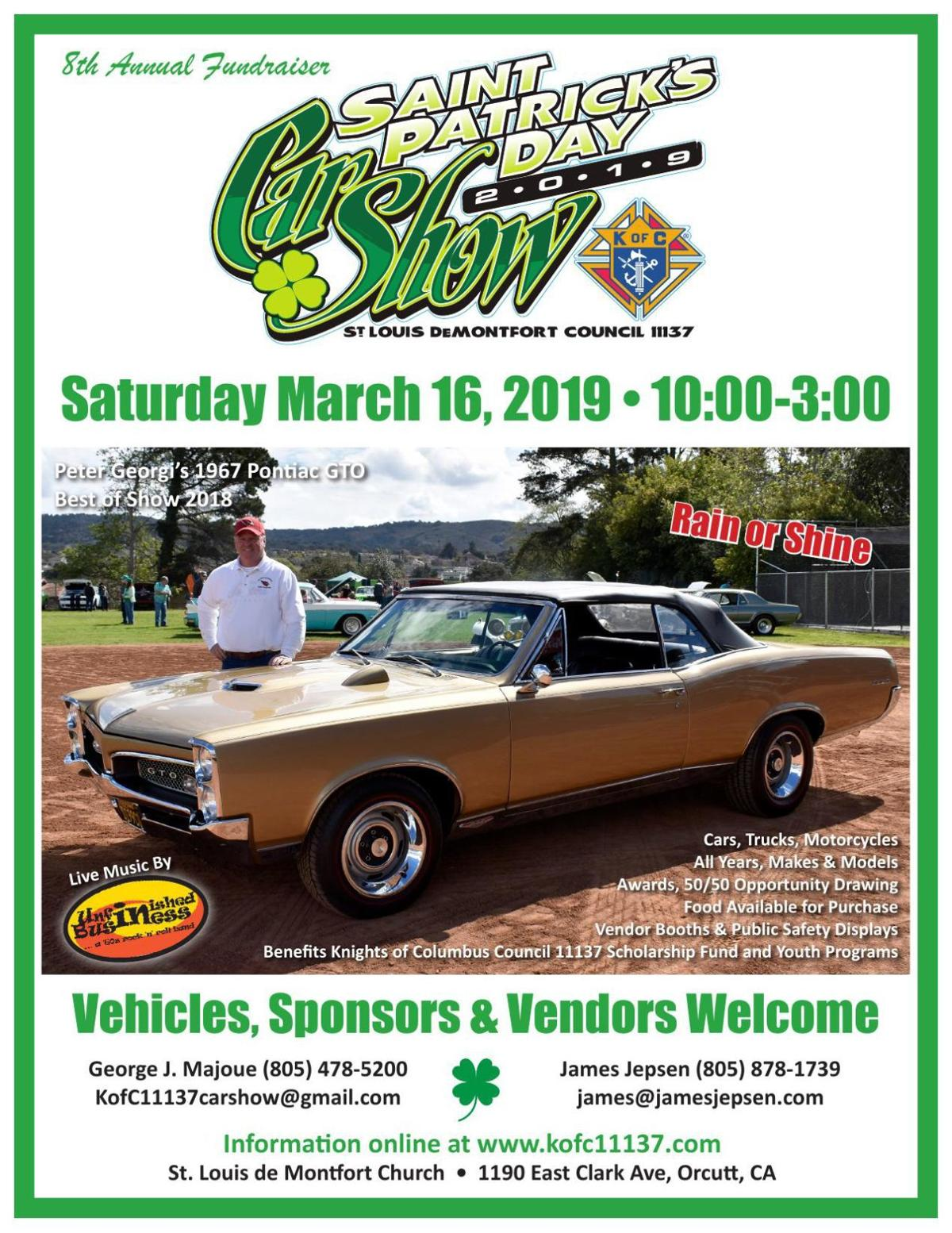 St. Patrick's Day Car Show