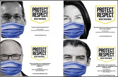 County officials join Protect. Respect. Wear Your Mask campaign