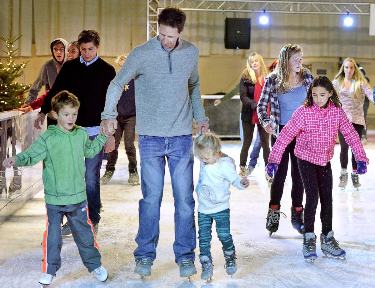 Holiday ice skating in SLO about