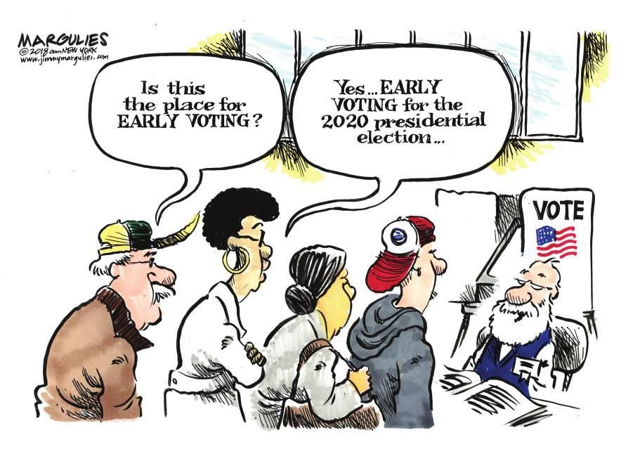 Cartoon: Early voting