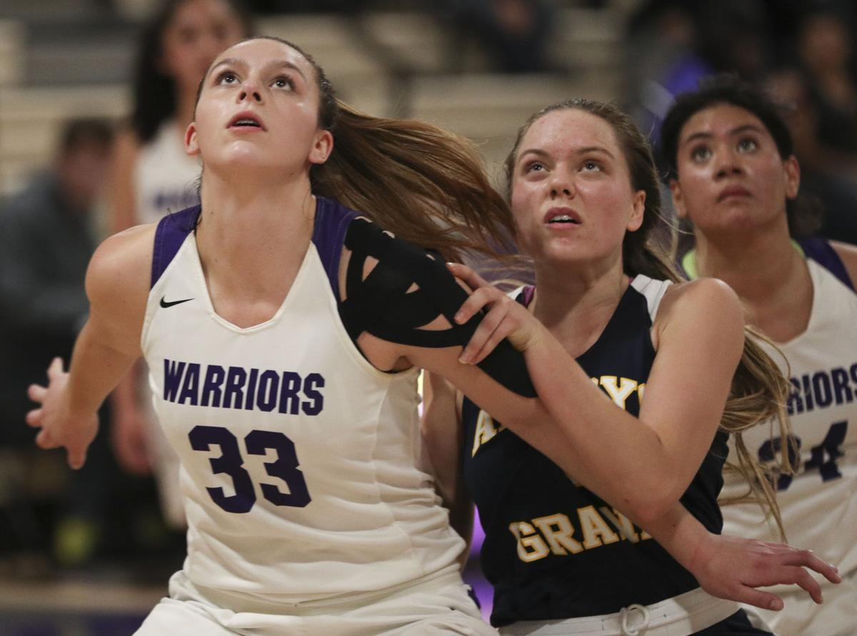 Righetti vs Arroyo Grande Girls Basketball