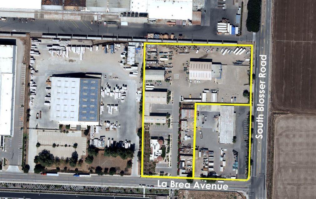 Manriquez Commercial site at Blosser and La Brea