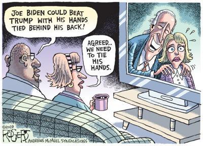 Cartoon: Tie Biden's hands?