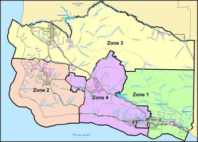 Santa Barbara County Library Zones