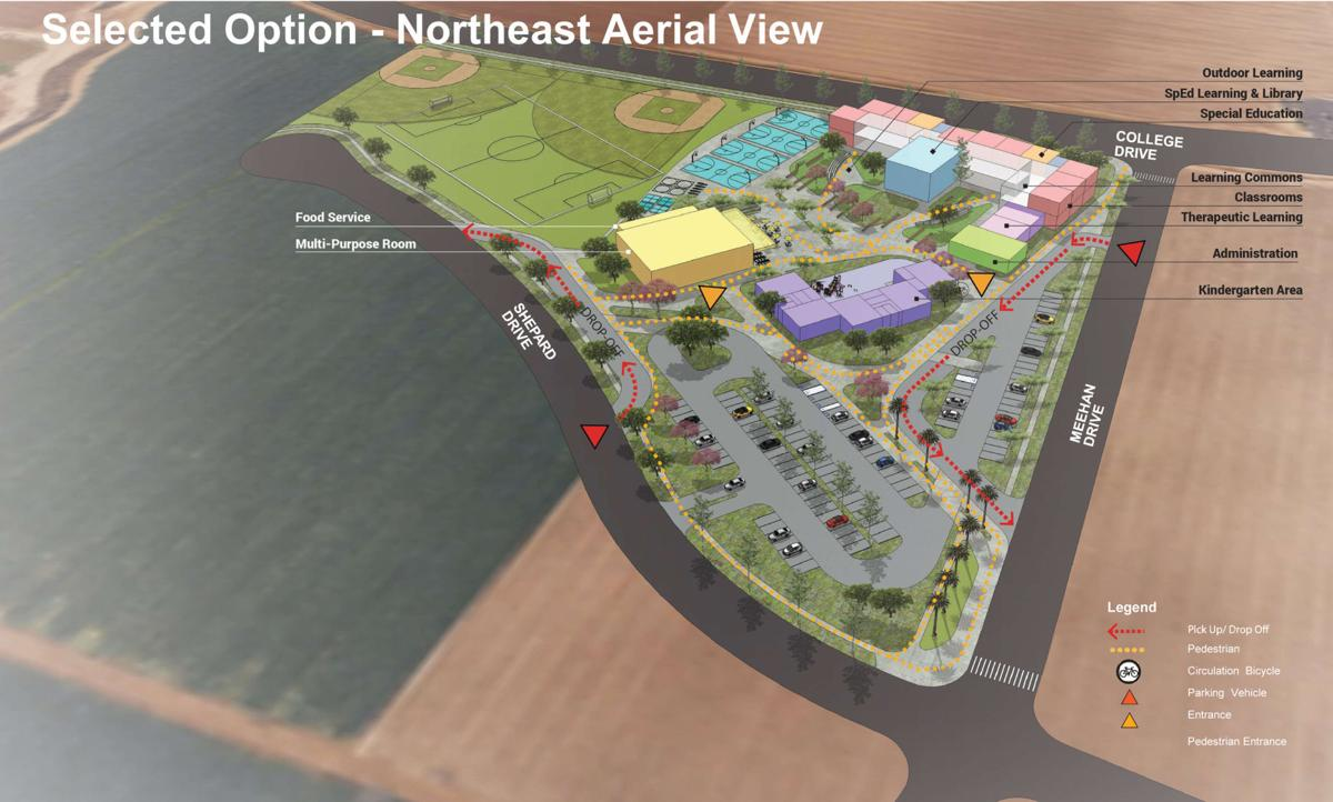 111317 Site Plan New School