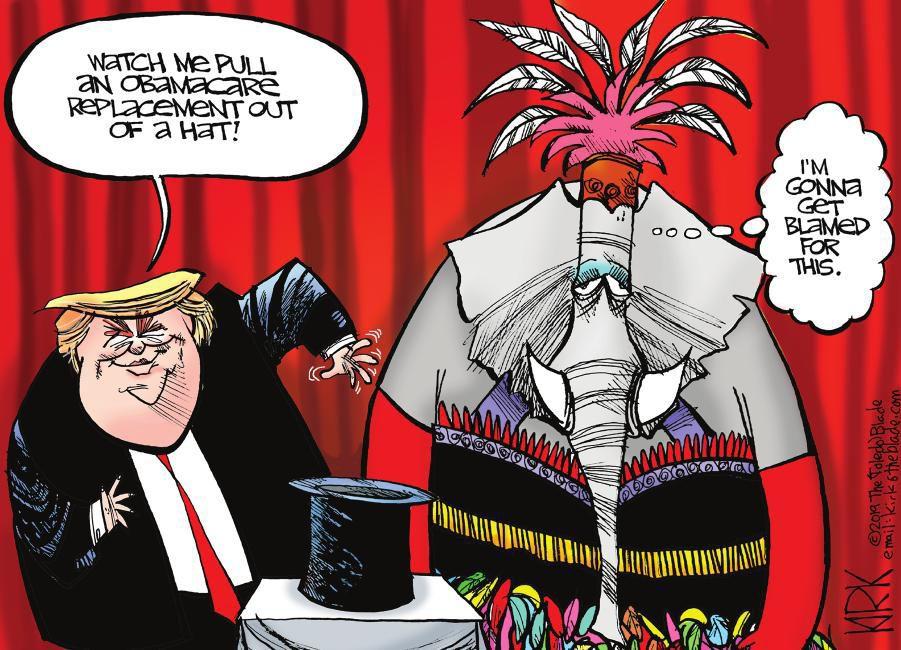 Cartoon: Trump's next trick