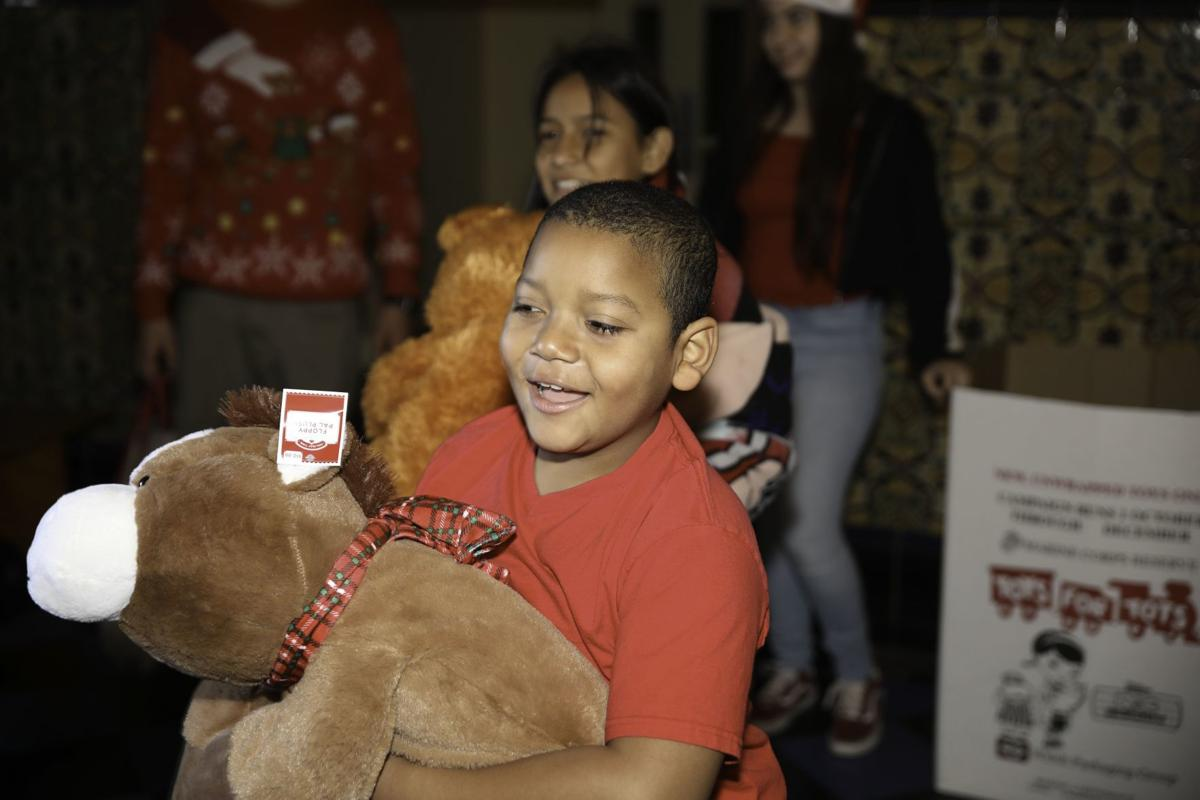 Lompoc Toys for Tots stuffed animals