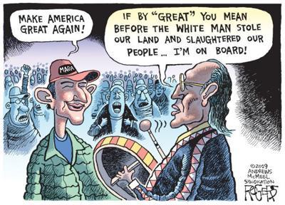 Cartoon: Make America Great Again