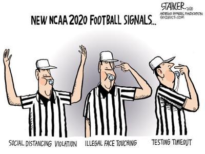 Editorial Cartoon: Signals