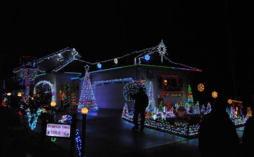 residential category of the holiday decorating contest was handed out to homeowners at 517 starlight lane categories ranged from best use of lighting