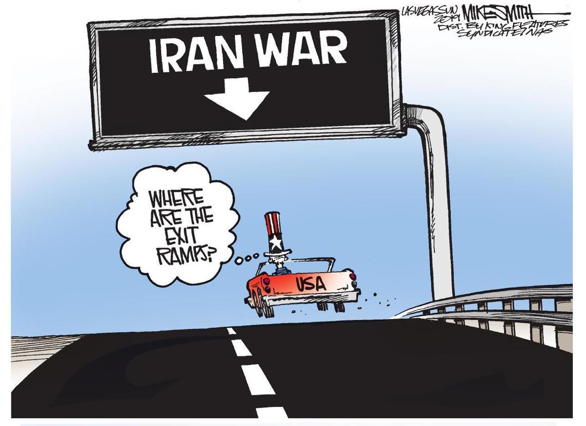 Cartoon: No off-ramps