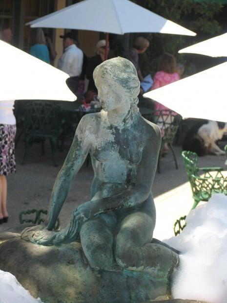 Little Mermaid statue symbol of Solvang's Danish heritage