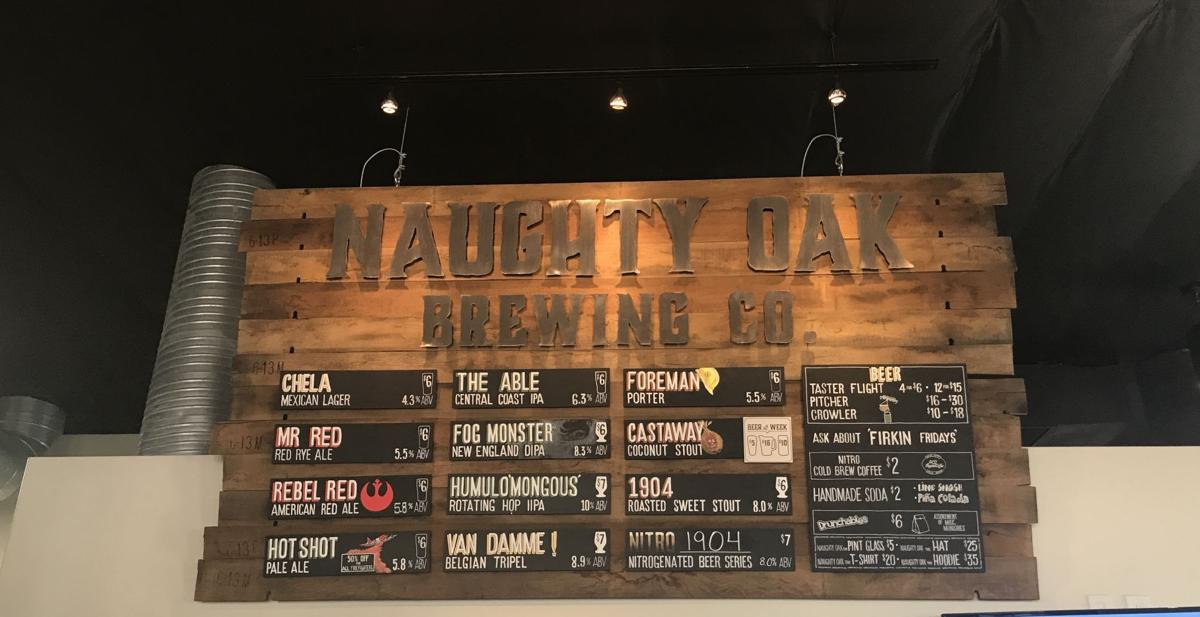 The Naughty Oak Brewing Company in Old Orcutt