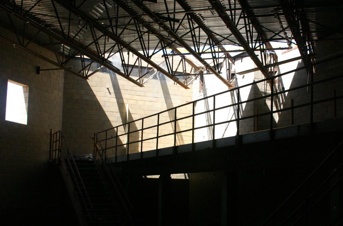 Northern Branch Jail taking shape west of Santa Maria