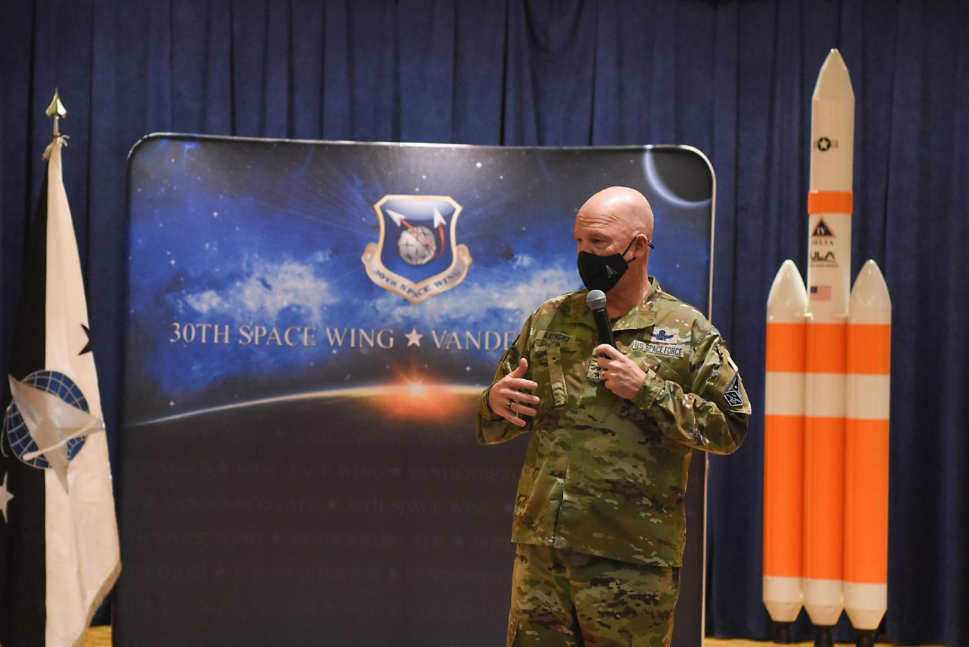 """Gen. John W. """"Jay"""" Raymond, U.S. Space Force Chief of Space Operations"""