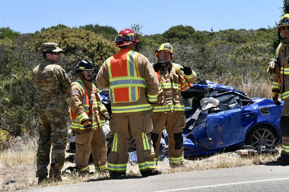Santa Lucia Canyon Road fatal wreck