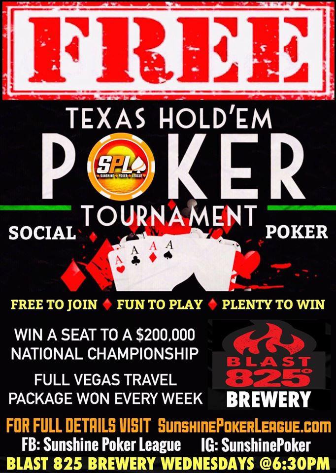 Social Poker Blast 825