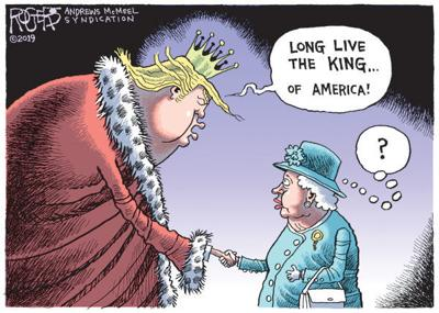 Cartoon: King of America