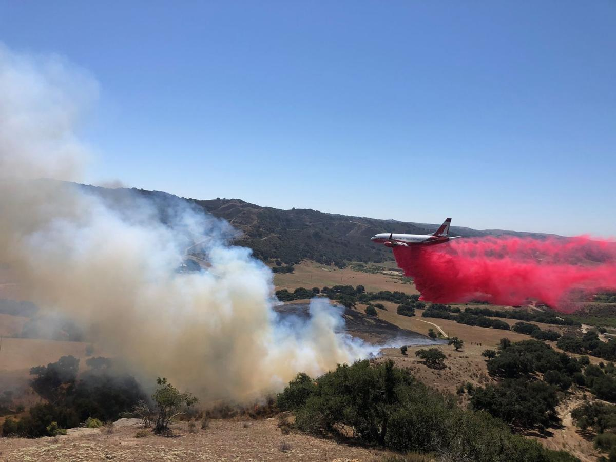 073120 Gato fire retardant drop