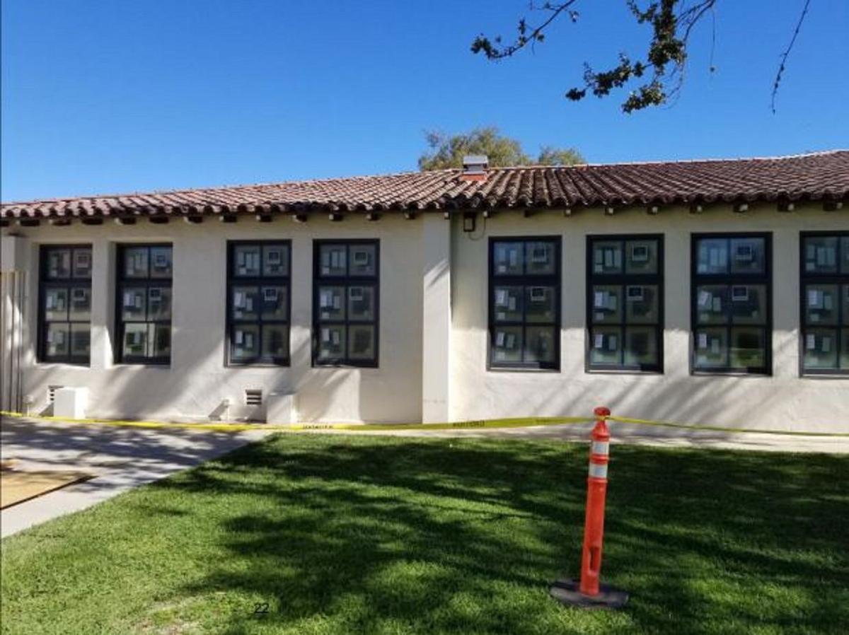 SYVUHS Administration Building windows