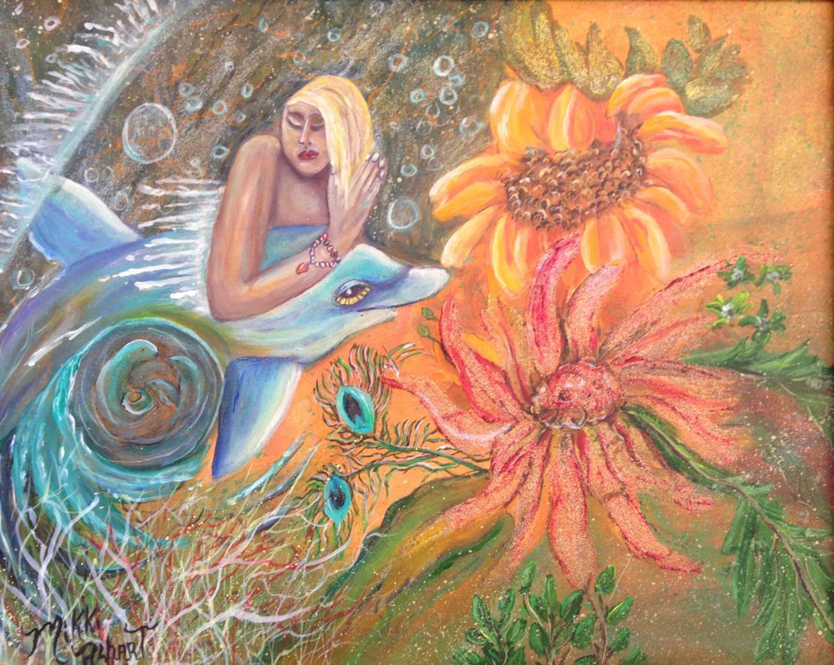 """""""Aqua Maiden"""" by Mikki Alhart"""