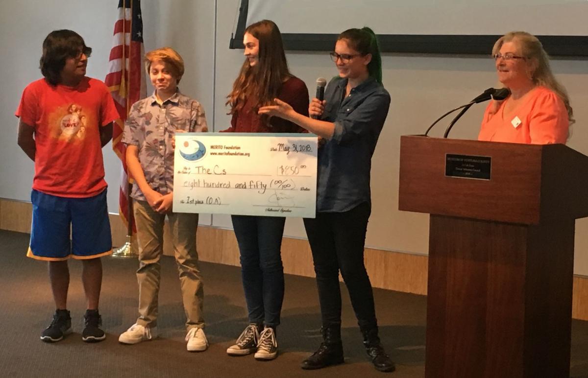 Jonata Middle School winners at EECCOA Challenge