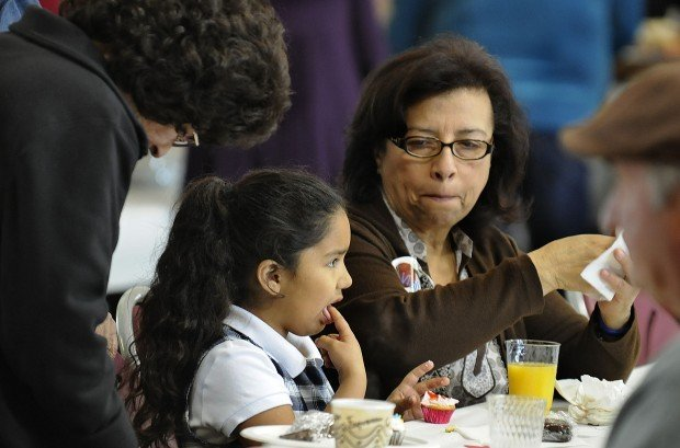 Students honor family members at St. Mary of the Assumption