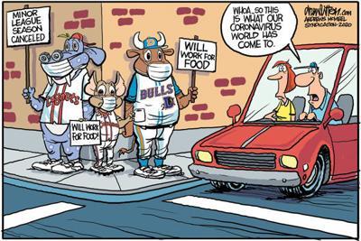Editorial Cartoon: Mascots