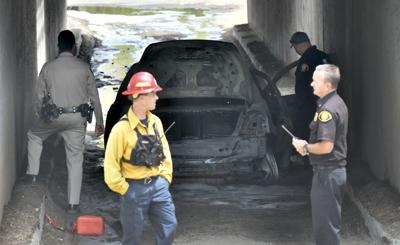 county lines santa barbara county fire investigating burned out car adult coloring program continues