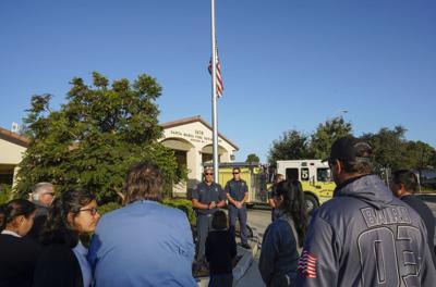 Photos: Santa Maria 9/11 memorial ceremony at Fire Station 5