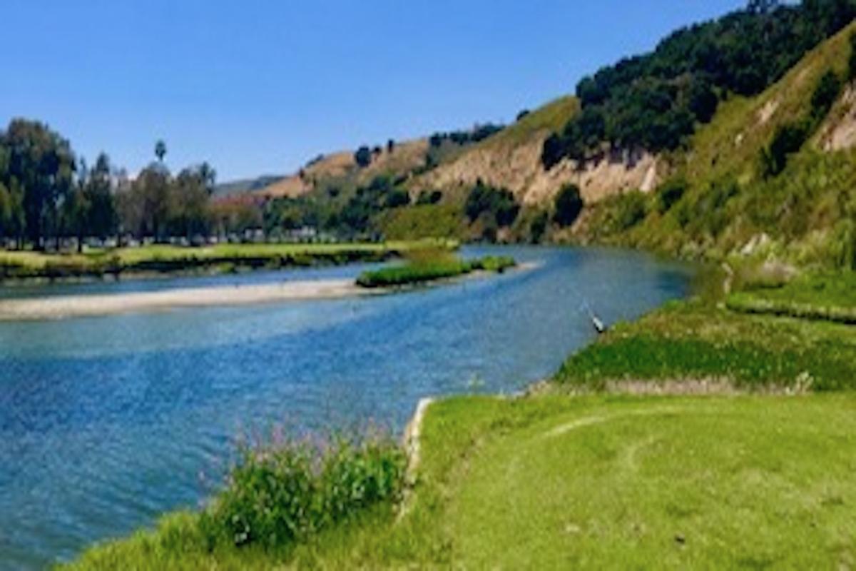 Bob Jones Trail has a stunning stream nearby