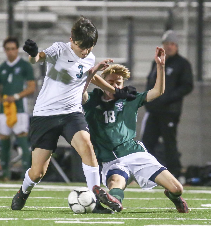 Boys Soccer Pioneer Valley vs Templeton 1