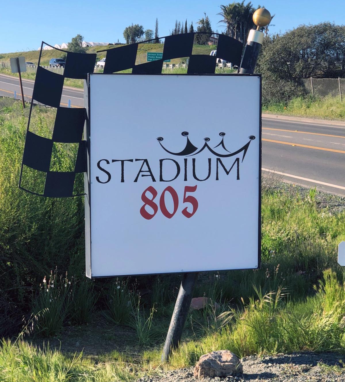 Raceway upgrades - Signage