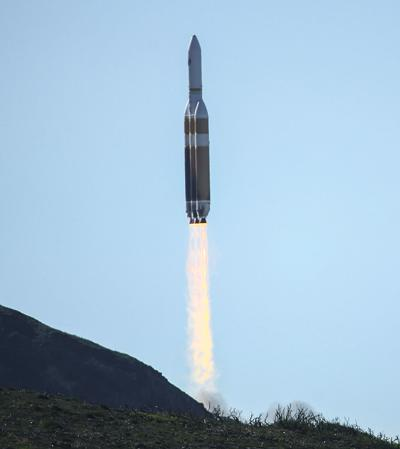 Top Secret Spy Satelite Mission Blasts off from Vandenberg AFB