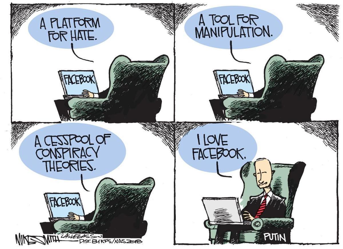 Cartoon: Facebook fan
