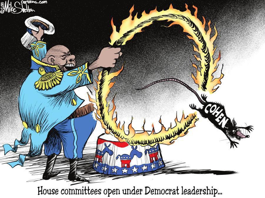 Cartoon: Jumping through hoops