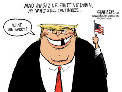 Cartoon: What, me worry?