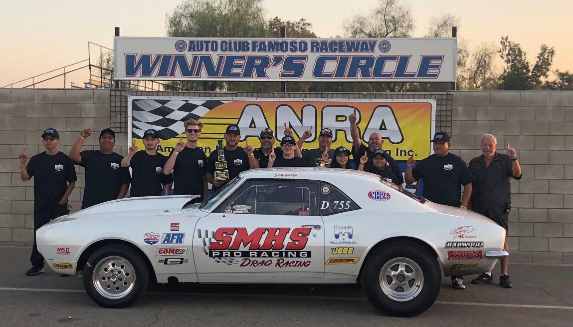 SMHS drag racing team wins at Famoso