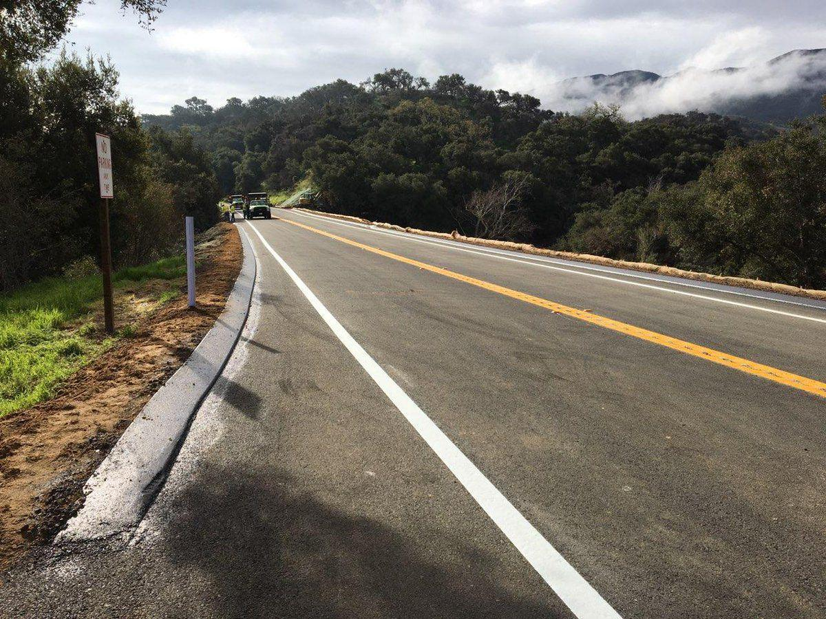 Caltrans: Hwy 154 reopens early after storm damage | Local News