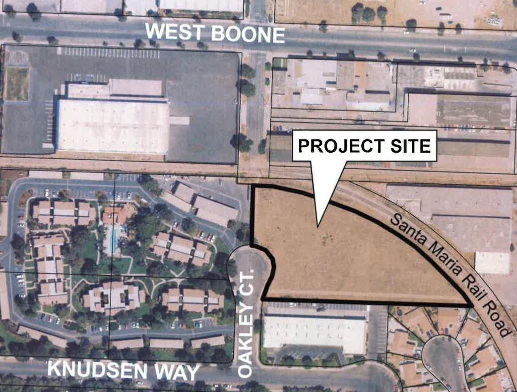 Oakley Court -- project site_01