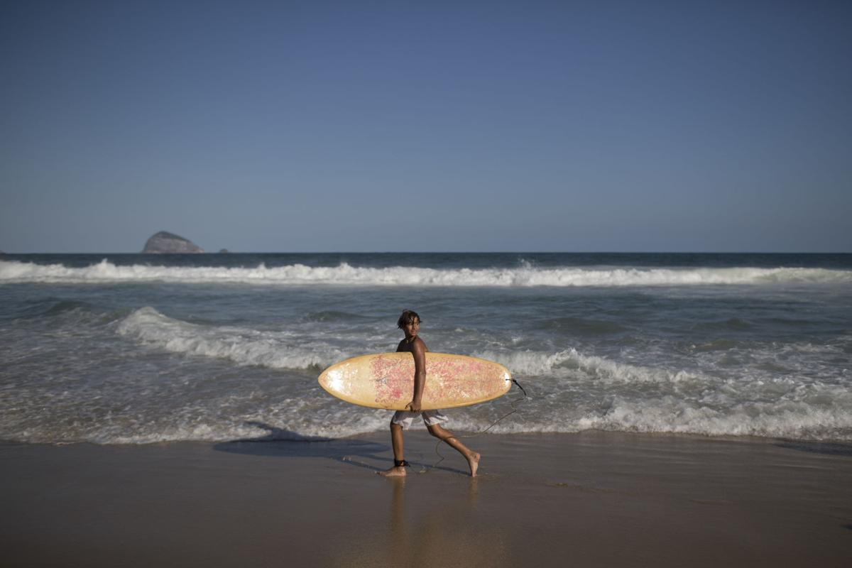 Rio Olympics Surfing in Slums
