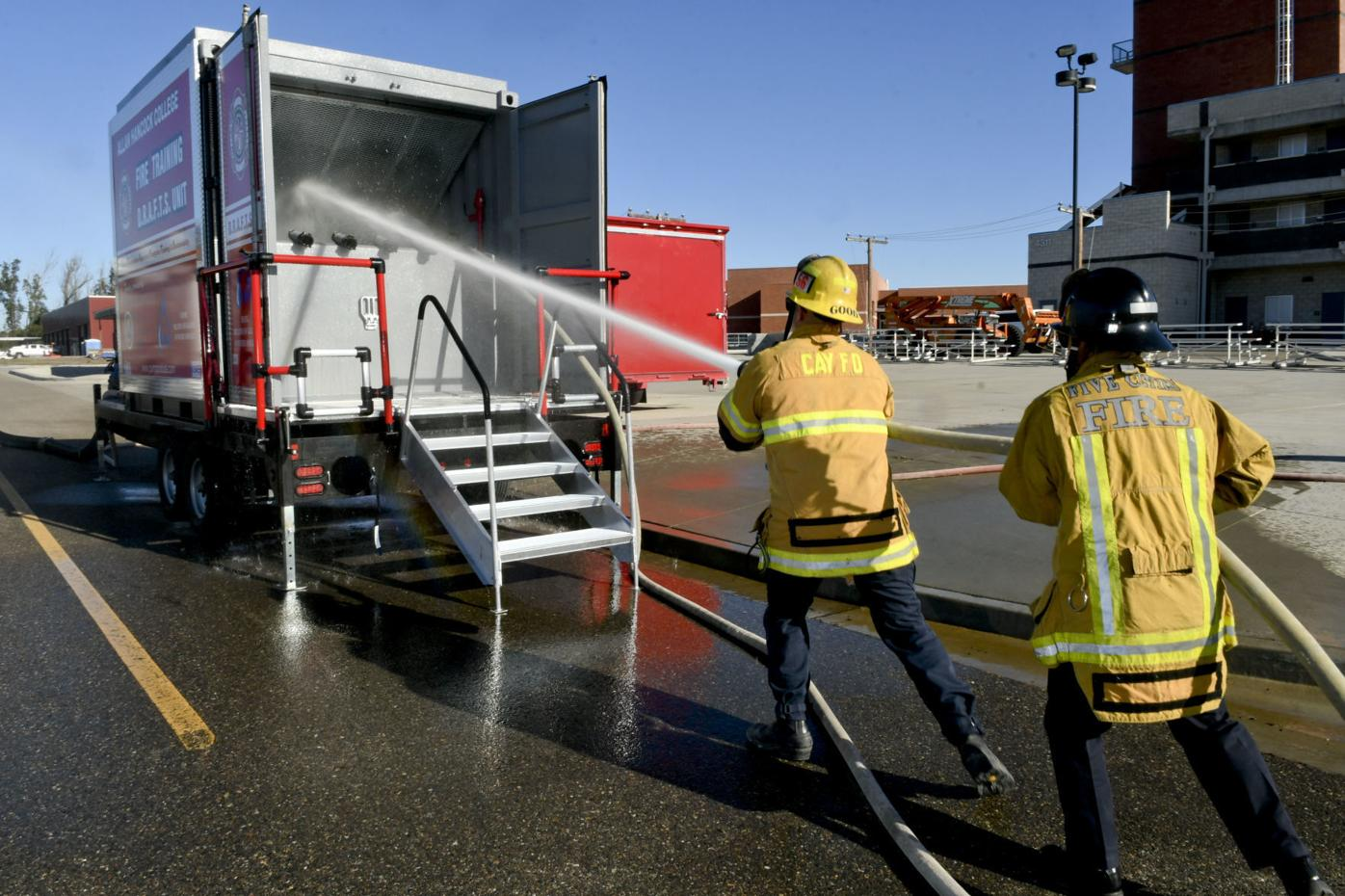 Water wise: New equipment at Hancock College fire academy expected to save millions of gallons