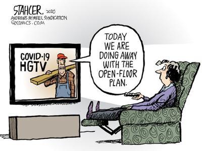 Editorial Cartoon: Open Floor