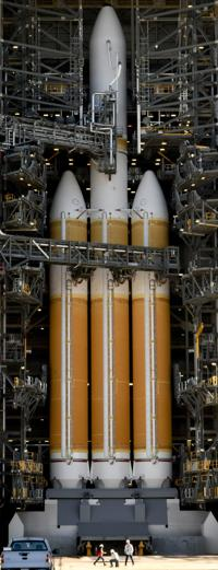 Twice-delayed Delta IV Heavy launch from Vandenberg Air Force Base now scheduled for Tuesday